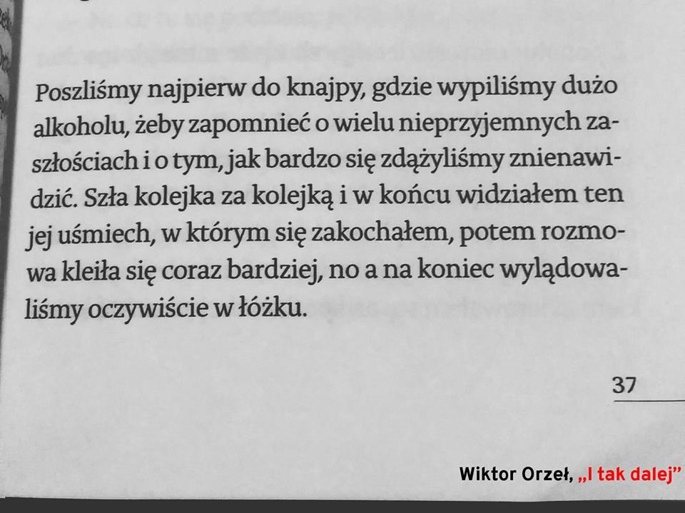 I tak dalej - Wiktor Orzeł